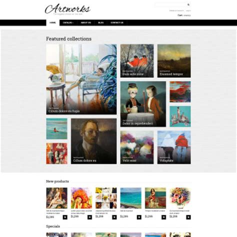 template gallery gallery templates templatemonster