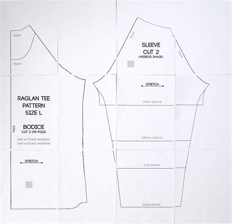 blouse pattern making tutorial pdf free raglan tee shirt sewing pattern women s size large
