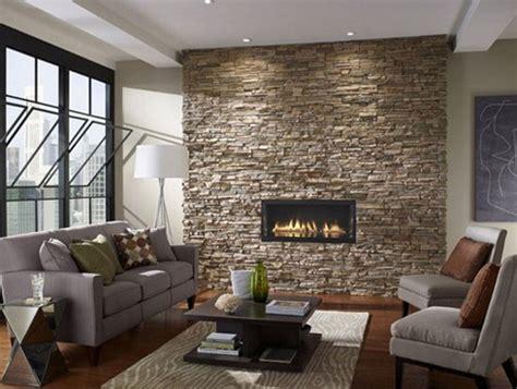 design interior dinding ruang tamu desain interior rumah minimalis modern dengan stone wall