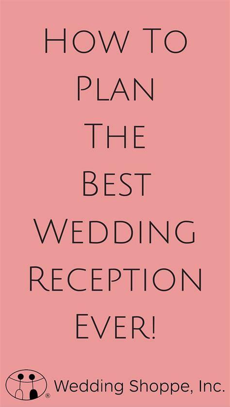 best 20 wedding reception timeline ideas on