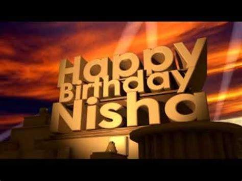 happy birthday nisha mp3 download happy birthday nisha youtube