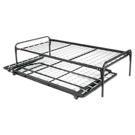 trundle bed frames fastfurnishings com twin size hi rise bed daybed frame