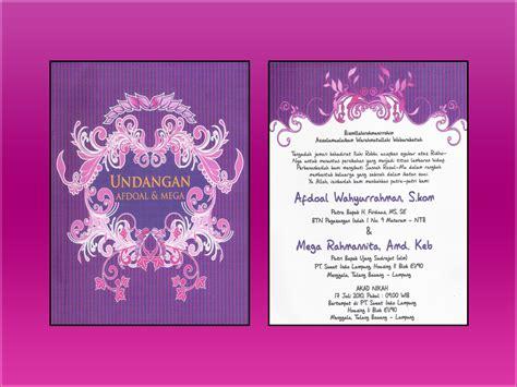 Undangan Pernikahan Vintage 4 supplier kartu undangan contoh undangan pernikahan vintage