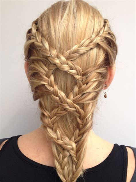 fantasy hairstyles step by step la moda en tu cabello peinados con trenzas primavera