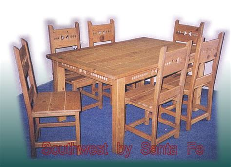 southwest dining room furniture southwestern style dining tables