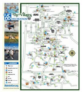 map of the villages in the villages florida villages recreation centers map rainbow family friends