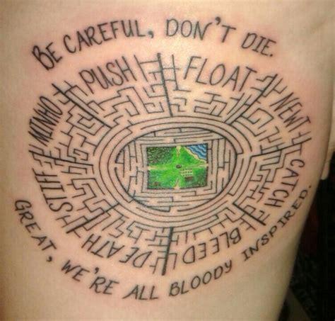 maze tattoo 15 best 29 09 15 images on maze runner kaya