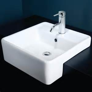 Semi Recessed Vanity Basin Caroma Carboni Ii Semi Recessed Vanity Basin Design Content