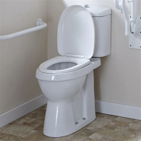 comfort toilet milano white disabled comfort height doc m wc toilet cistern