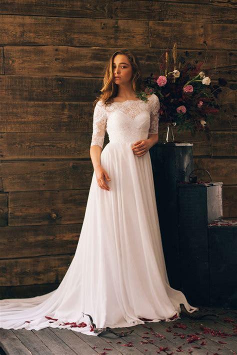 Summer Wedding Dresses by Simple Summer Wedding Dresses Mywedding