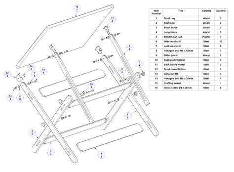 Drafting Table Blueprints Pdf Diy Diy Drafting Table Plans Deer Feeder Plans Projects Diywoodplans