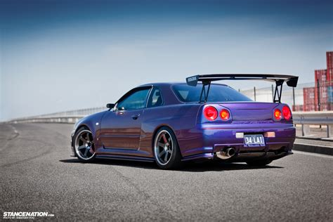 barely legal davids nissan skyline  gtr
