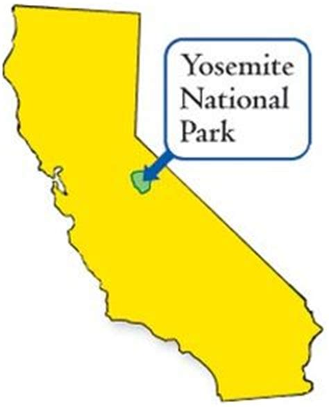 california map near yosemite maps national parks map and yosemite national park on