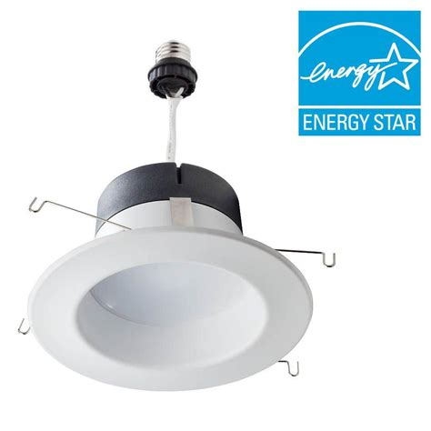 Downlight Philips 4 4 Inch philips 65w equivalent soft white 5 6 in retrofit trim recessed downlight dimmable led flood