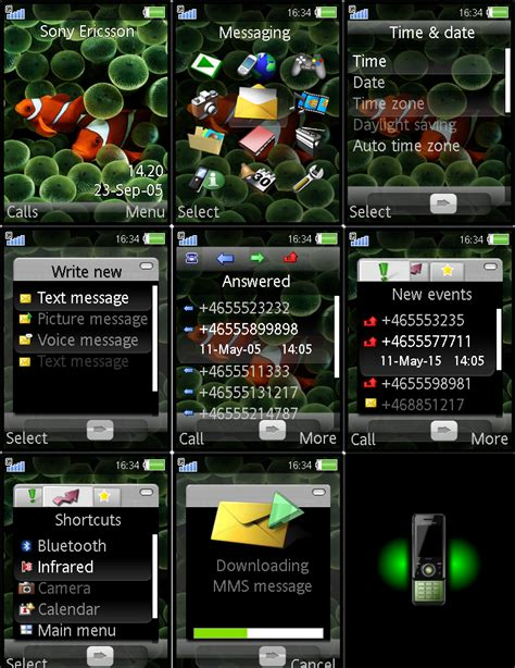 iphone themes maker iphone theme for sony ericsson by jusso11 on deviantart