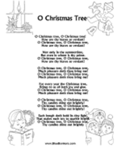 bluebonkers christmas lyrics bluebonkers free printable song lyric sheets