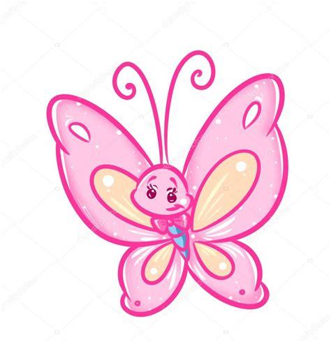 imagenes de mariposas color rosa dibujos animados de mariposa rosa foto de stock