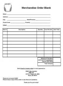 pwfc merchandise order blank