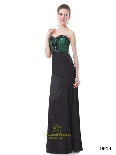 green cocktail black green and black prom dresses 2016 prom dresses