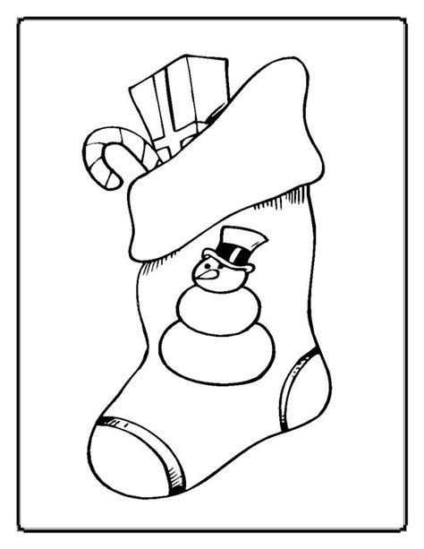 cute stocking coloring page christmas coloring pages christmas stocking printable