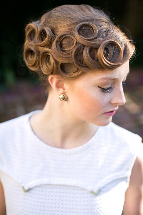pin curl wedding hairstyles hairstyle for