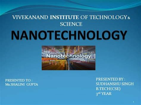 Nanotechnology Ppt Authorstream Nanotechnology Ppt Template