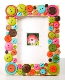 homemade picture frame that kids can make for mothers day
