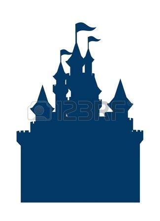 cinderella castle silhouette clip art | car interior design