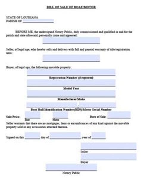 boat loans bad credit texas free boat trailer bill of sale form download pdf