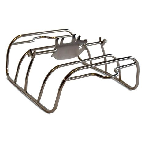 Grill Rib Rack by Portable Kitchen Pk Grills Stainless Rib Rack Pk99060