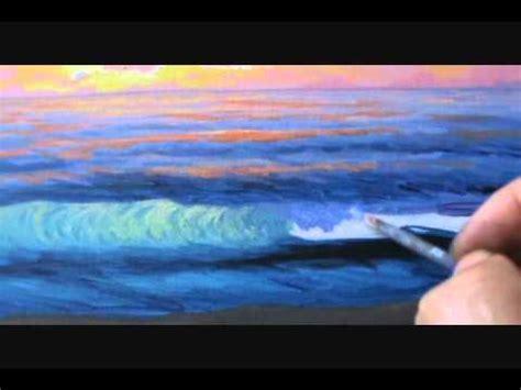 beach sunset painting technique introduction lesson class