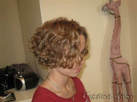 best permed short bobbed hair fun permed bob beautified pinterest bobs curls and