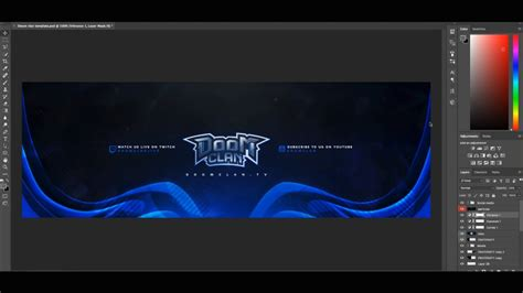 free gfx free esports twitter header template psd link in