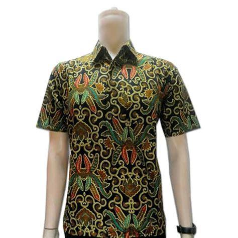 Batik Batu Raden Lengan Pendekk baju batik pria lengan pendek pusaka dunia