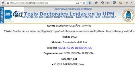 Upm Mba Timetable by Phd Inteligencia Artificial Upm Cuerpo Superior De