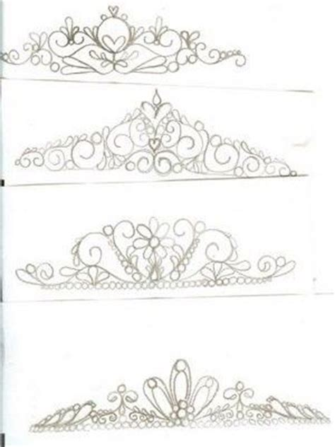 tiara template for cake tiaras royal icing and royals on
