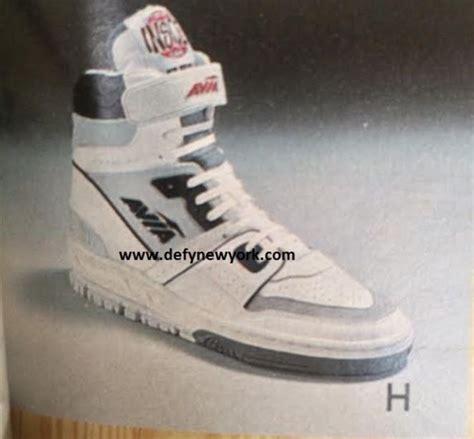 1980s basketball shoes avia 880 basketball shoe 1988 defy new york sneakers