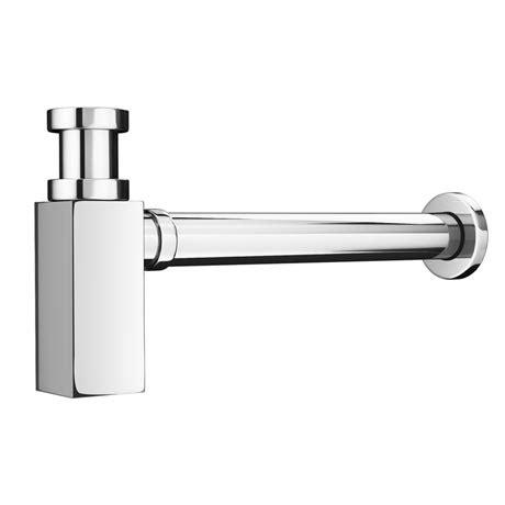 bathroom wall bottle trap p square modern basin bottle trap at victorian plumbing uk