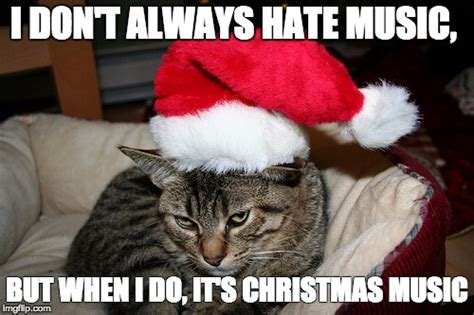 Christmas Music Meme - kitty grinch imgflip