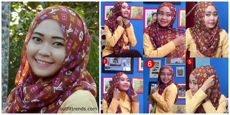 gambar tutorial hijab turban paris outfittrends 10 simple paris hijab tutorials you can do