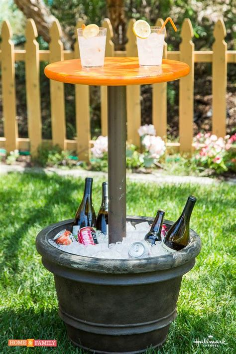 Cooler Patio Table Remodelaholic Brilliant Diy Cooler Tables For The Patio With Built In Coolers Sinks And