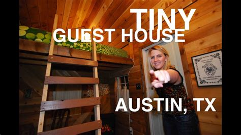 woman converts shed   tiny house micro inn austin