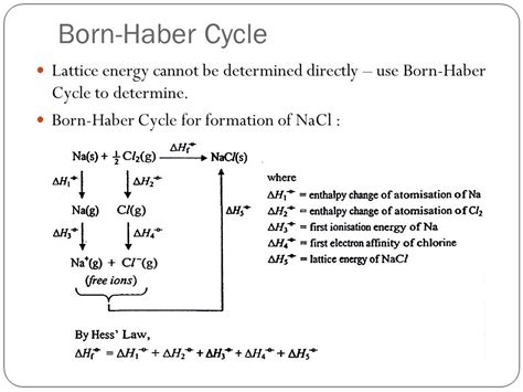born haber exercise a2 chemical energetics ppt video online download