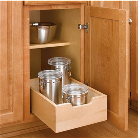 Wood Pull Out Drawers by Kitchen Base Cabinet Wood Pull Out Drawers W 3 4