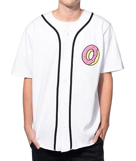 Baseball Shirts Future Donut White Baseball Jersey At Zumiez Pdp