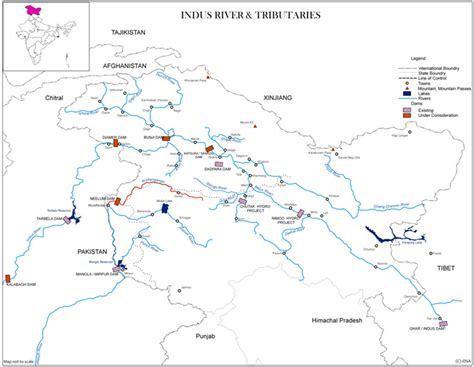 indus river  tributaries institute  defence studies  analyses