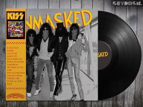 ncb cover design kiss kiss unmasked alternative cover hard rock and heavy