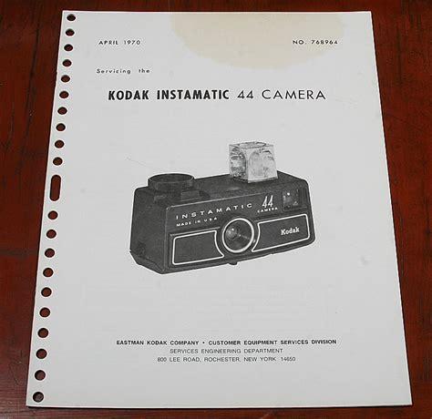 kodak repair kodak repair manual for instamatic 44 59509 ebay