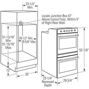 Kitchen Oven Width 30 Wall Oven Cabinet Dimensions Kitchen Ideas