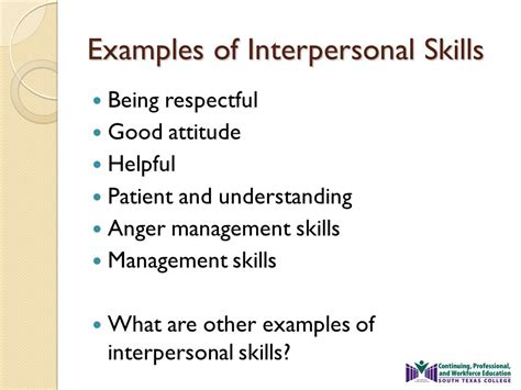 interpersonal skills ppt